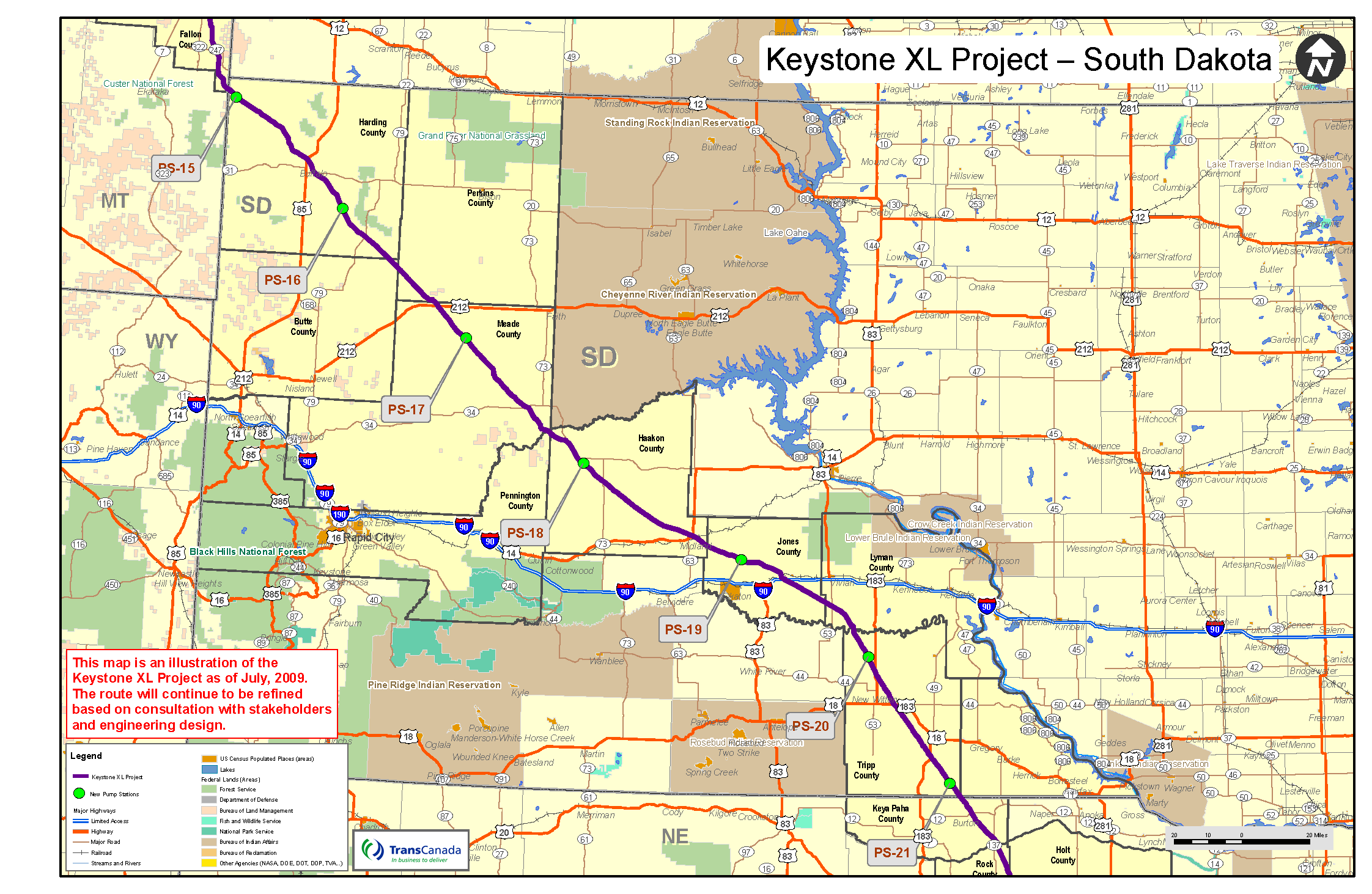 31 model Map Of South Dakota Pipeline