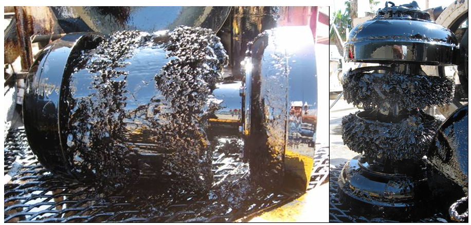 Chemically assisted pipeline cleaning for pigging operations