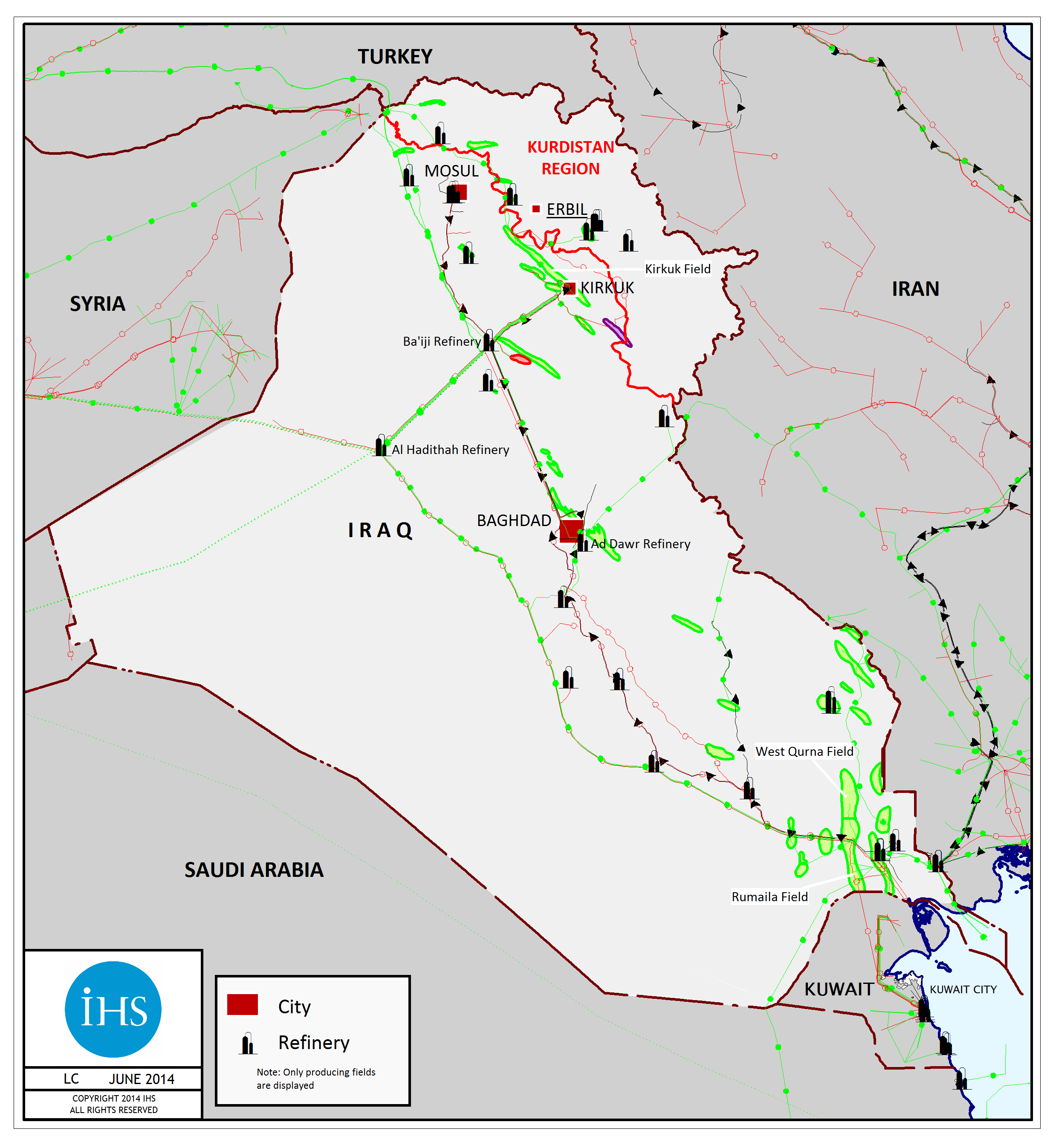 What were the effects of the discovery of oil in the Middle East?