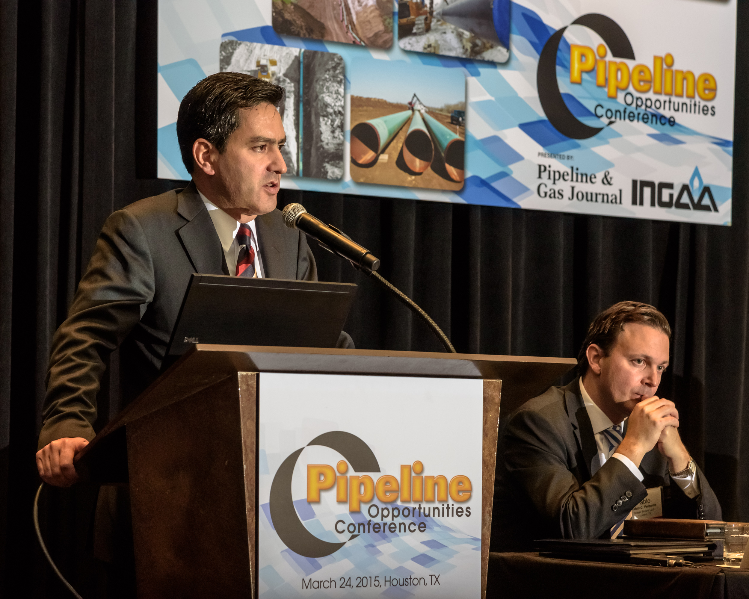 David Madero Suarez, director general of The National Center for Control of Natural Gas, explains Mexico's Energy Reform at Pipeline & Gas Journal's Pipeline Opportunities Conference on March 26.