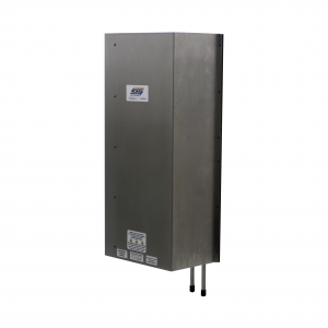 CC2067 air-to-water heat exchanger can achieve below ambient cooling conditions inside the cabinets/panels.