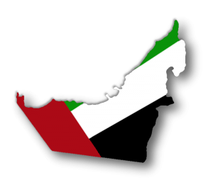 UAE_map_flag