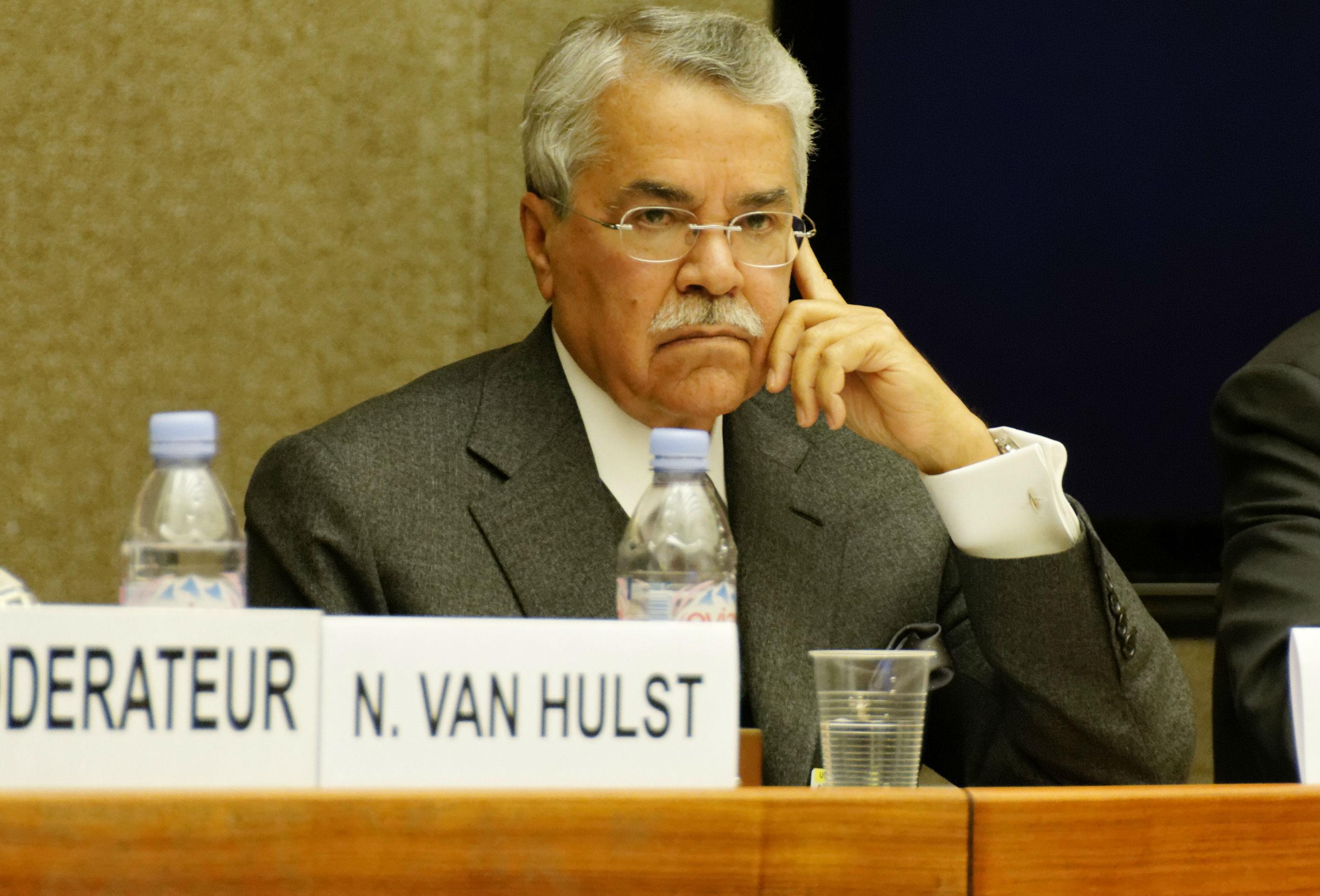 Saudi Arabian Oil Minister Ali Al-Naimi .