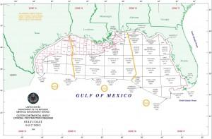 Gulf leasing map
