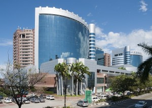 Labuan financial park, located in Victoria, Malaysia.