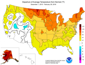 Source: U.S. Energy Information Administration, National Oceanic and Atmospheric Administration, Climate Prediction Center