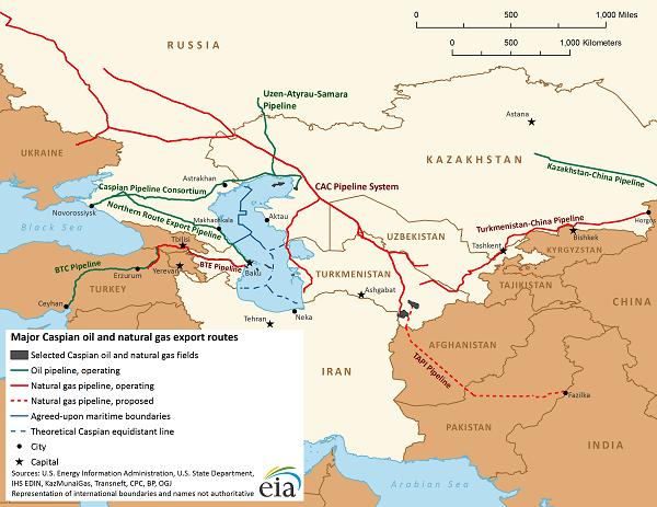 turkmenistan pipeline