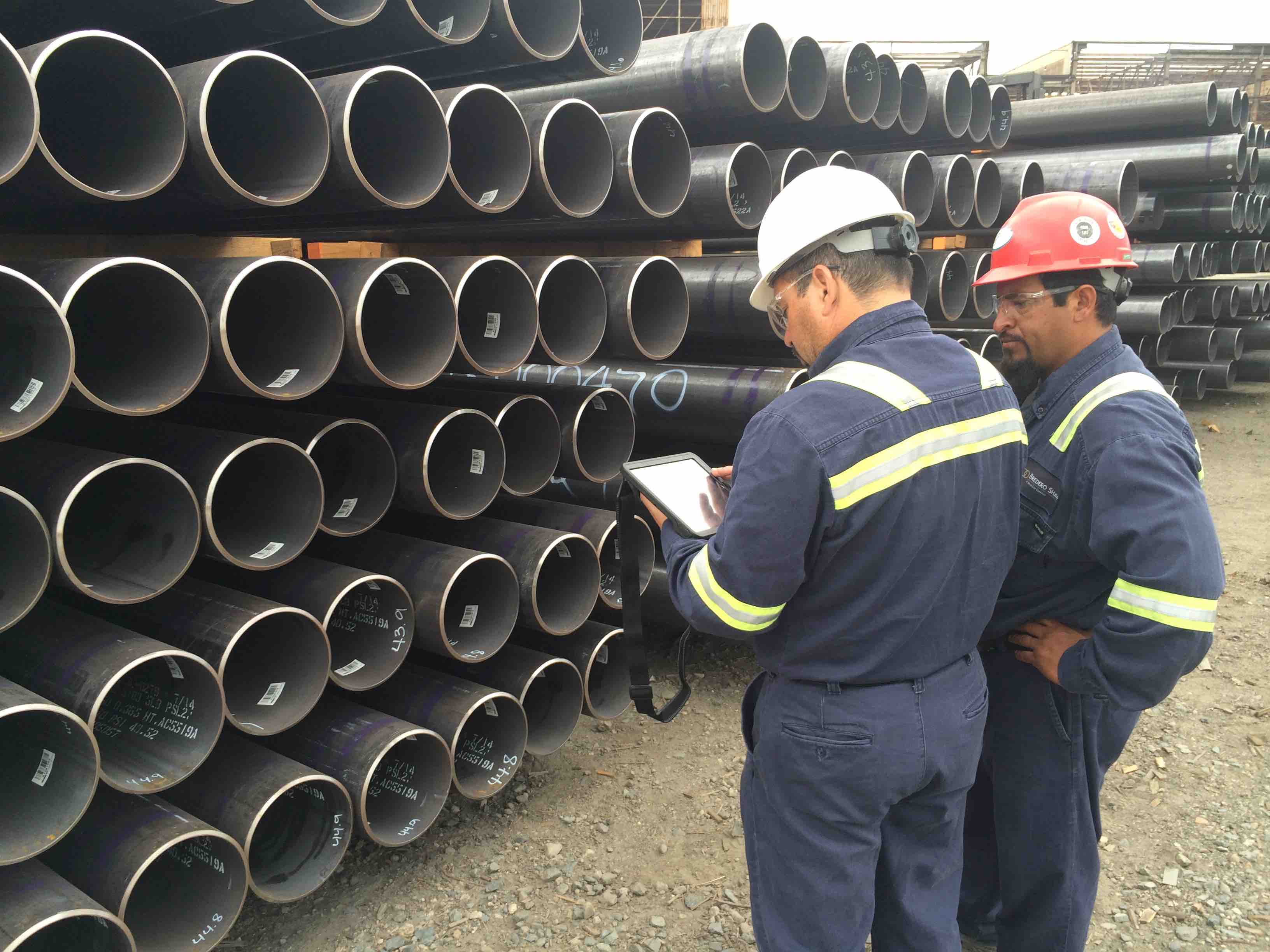 pipe tracking