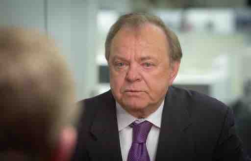 Harold Hamm, CEO of Continental Resources and shale oil drilling  pioneer is being considered to run Trump's Energy Department, according to transition documents. AP photo