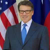 Rick Perry, photo courtesy of Perry's Facebook page.