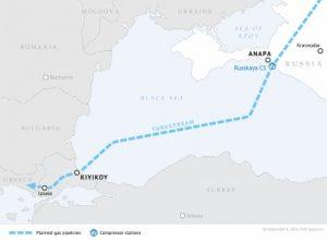 TurkStream Pipeline route