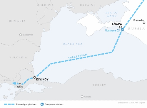 TurkStream Pipeline route