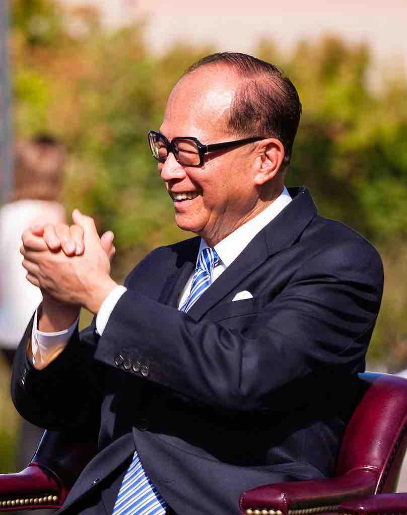Photo: Li Ka-shing (WikiMedia Commons)