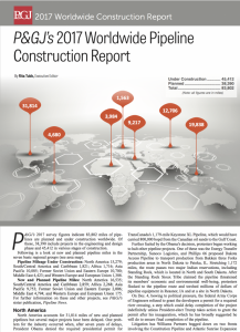2017 global pipeline construction report