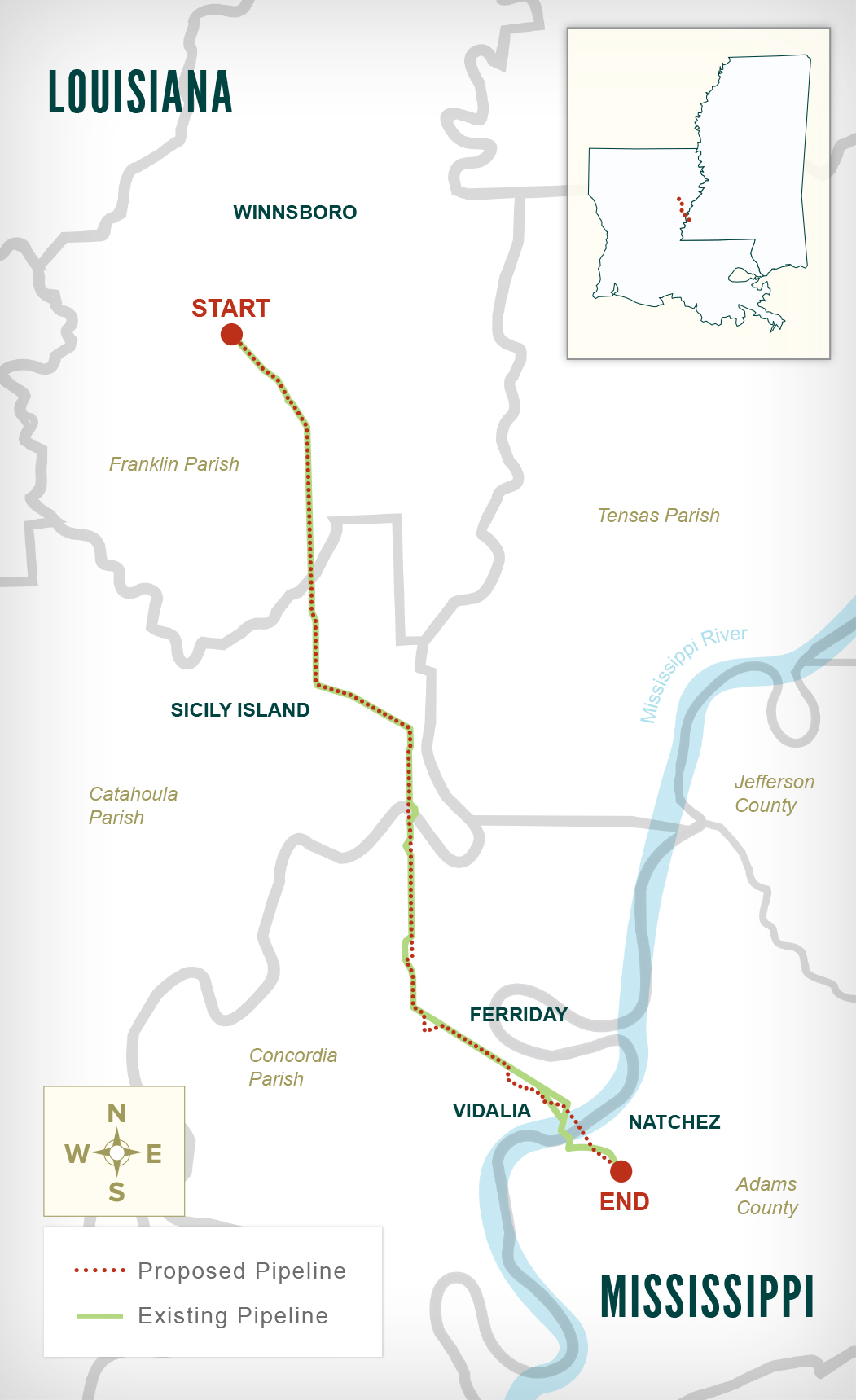 Midla-Natchez Pipeline