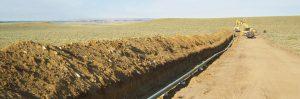 Photo of Grieve Pipeline, courtesy of Elk Petroleum.