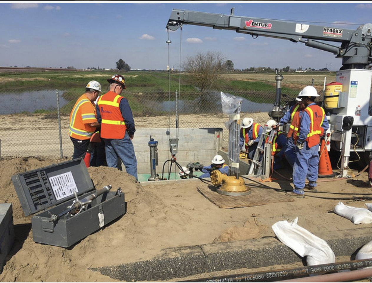Dig in photo at Gold Shovel Standard release, courtesy of SoCalGas.