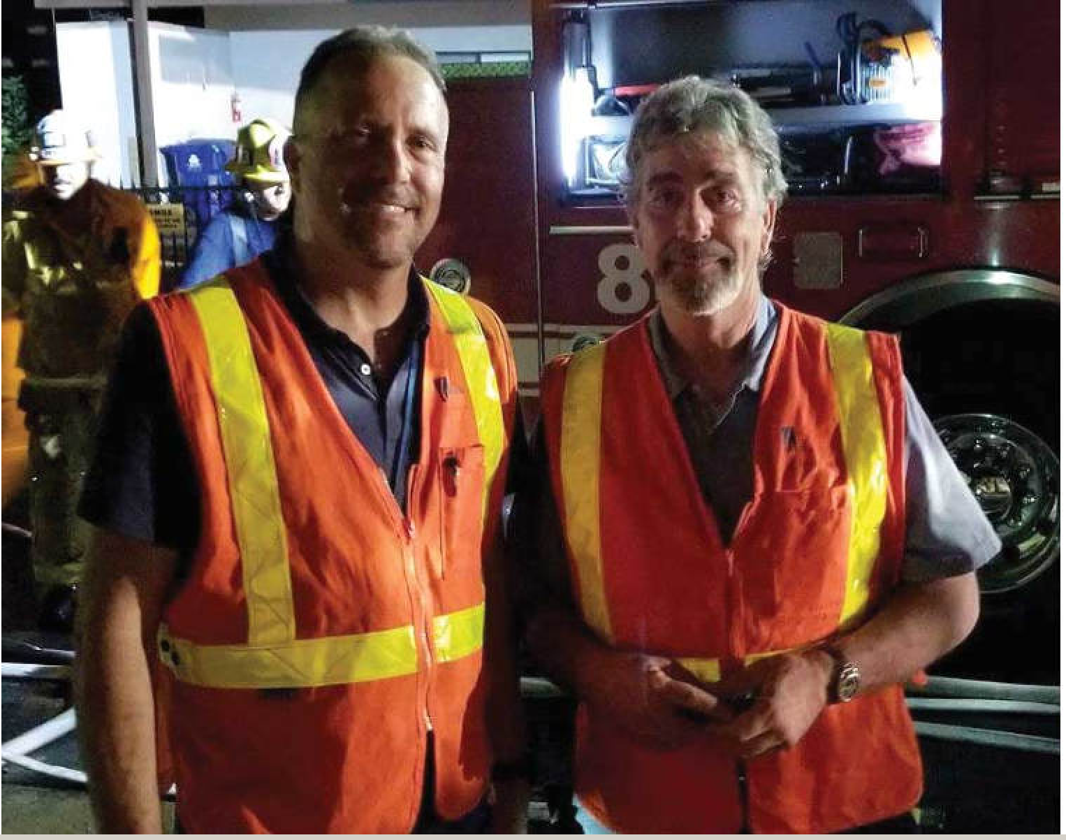 Field Team Lead Mike Ciani, left, and Jeff Catton. (Photo courtesy of SoCalGas).