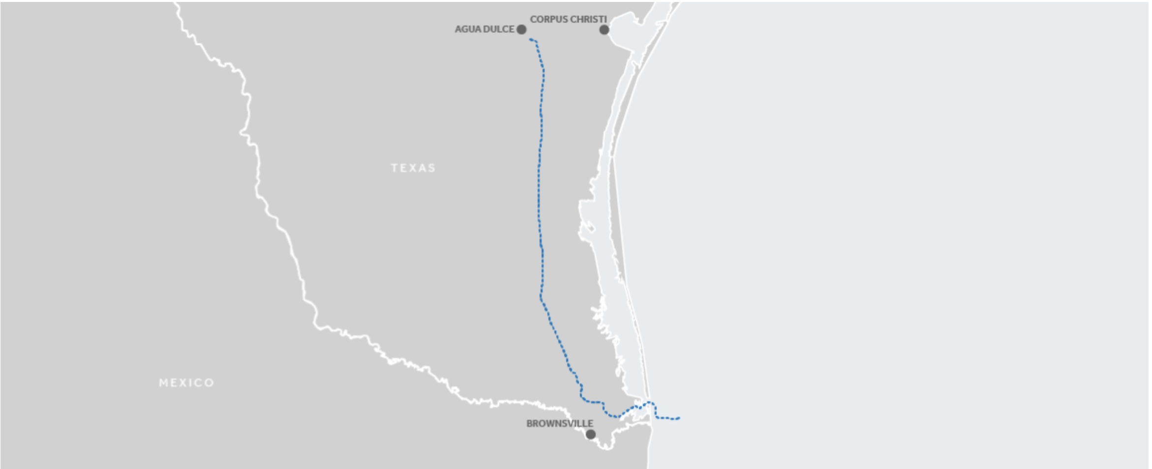 Valley Crossing Pipeline Map