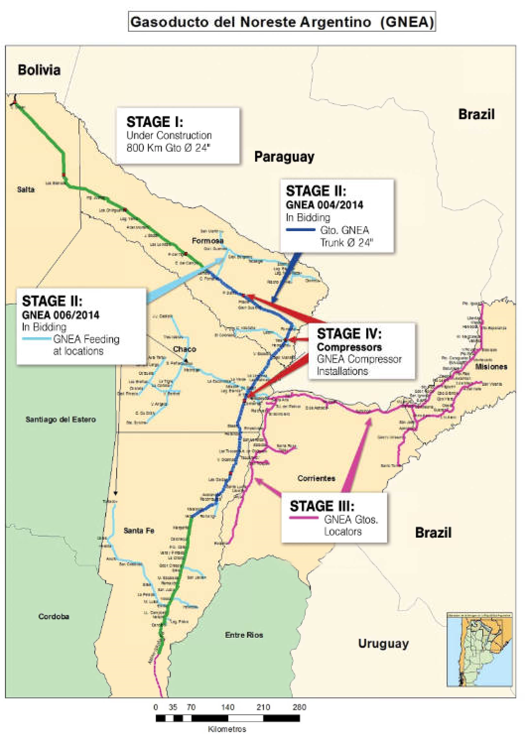 Argentina pipelines Nov 17