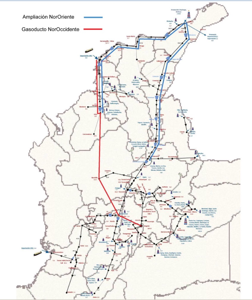 colombia pipelines dec 17