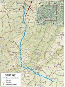 mountain valley pipeline, ready or not january 2018