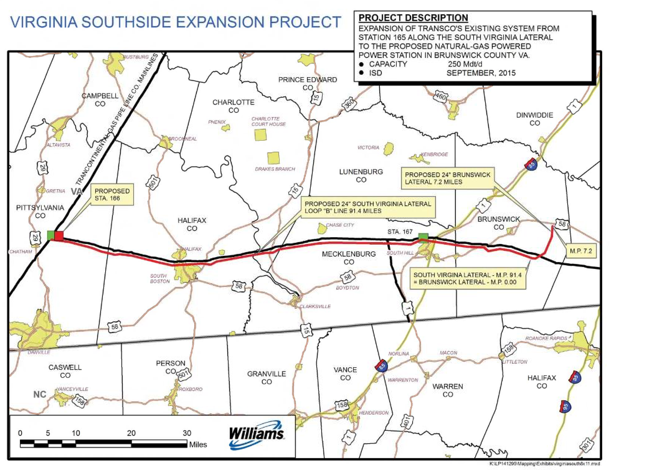 The Virginia Southside II expansion project.