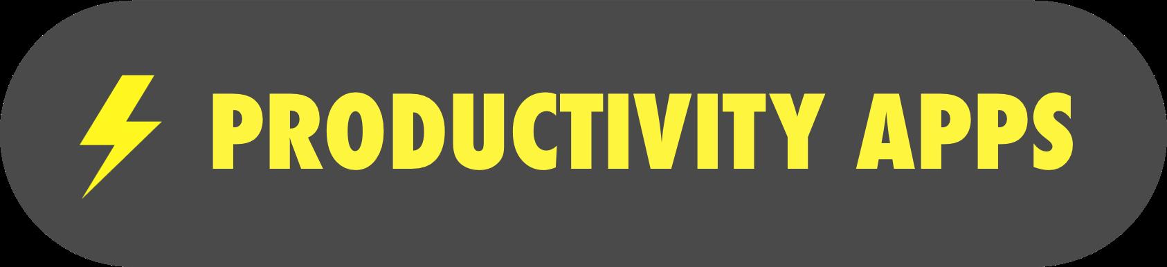 Productivity apps header