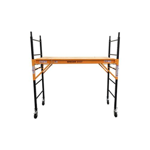6 ft Renegade Tools 1000 Utility Scaffold w/ Casters