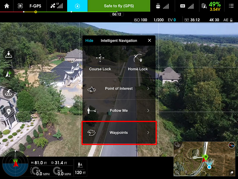 HOW TO: Setup and use Waypoints | DJI FORUM