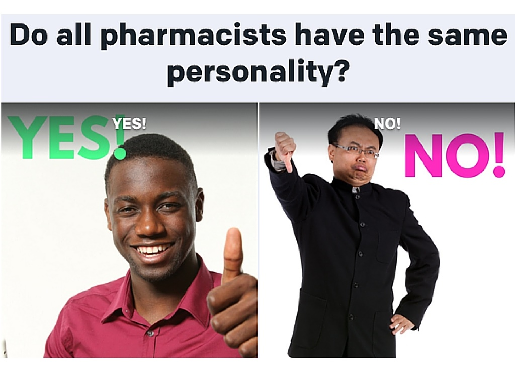 do all pharmacists have the same personality