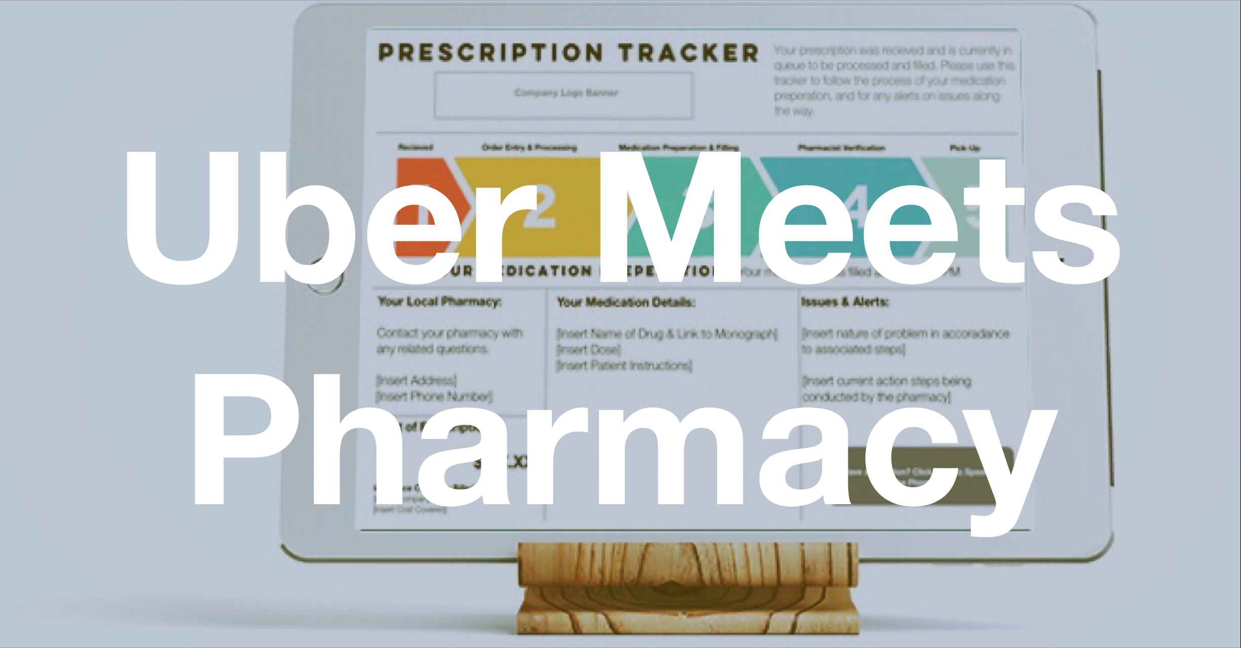 Rapid Drug Delivery: Where Is the Uber for Pharmacy?