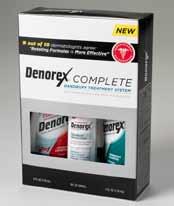 Denorex Complete Dandruff Treatment System