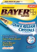 Bayer Quick Release Crystals