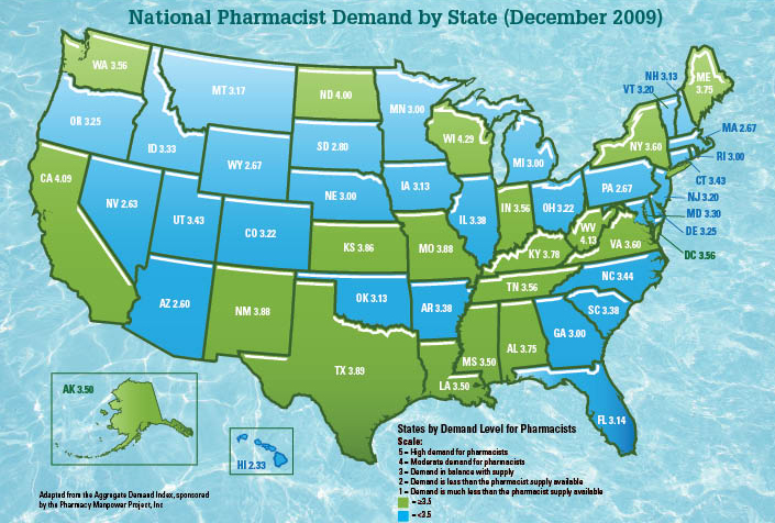 Information for Success Job Facts and Figures – Job Outlook Pharmacy