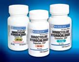 Minocycine Hydrochloride Capsules
