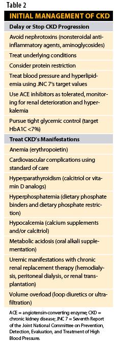 Chronic Kidney Disease: Pharmacist Intervention Can Improve