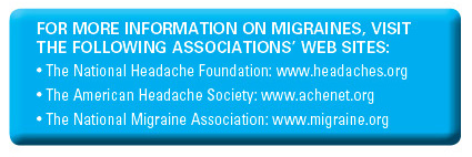 Migraine Web sites