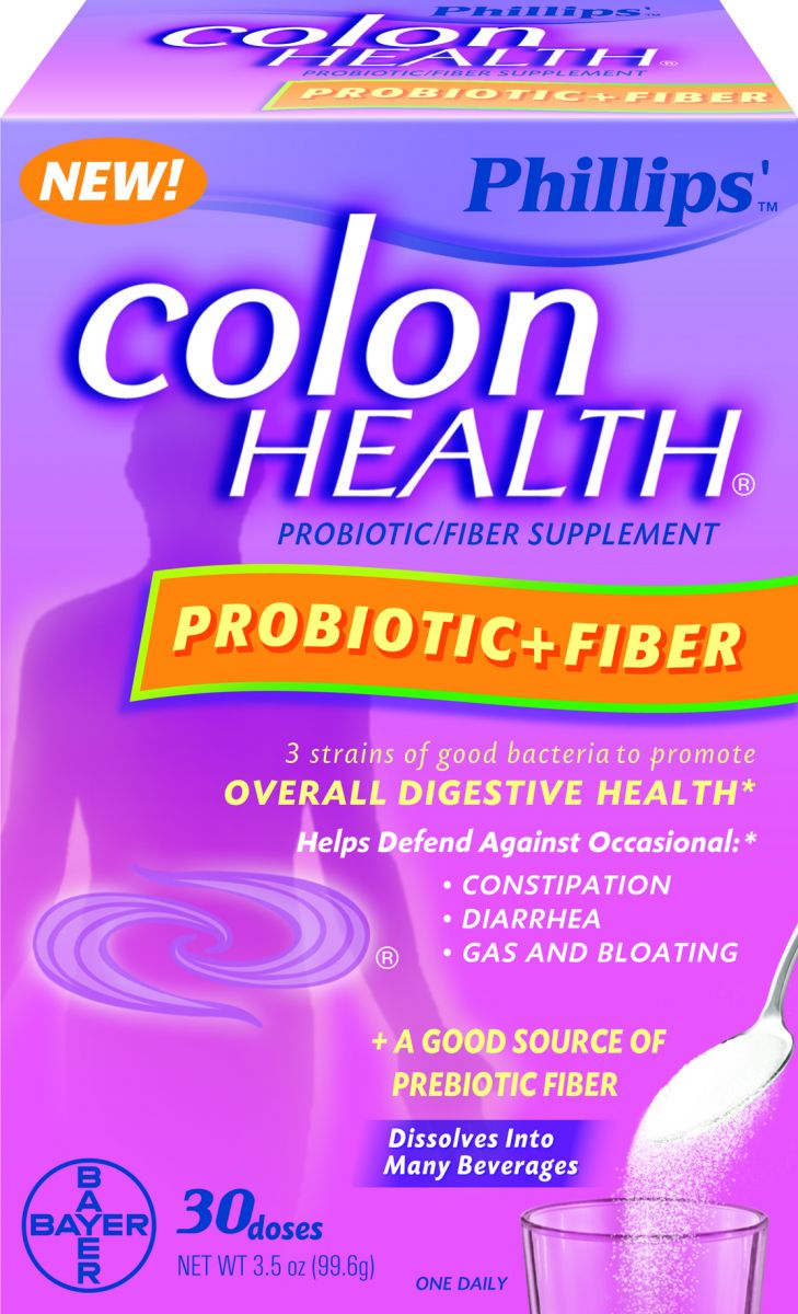 Phillips colon health ingredients