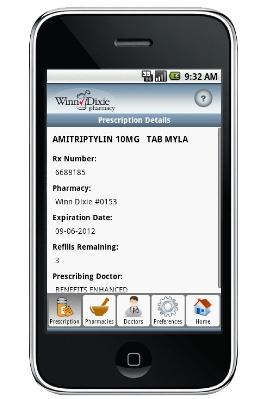 Winn-Dixie Introduces Smartphone App for Filling Prescriptions