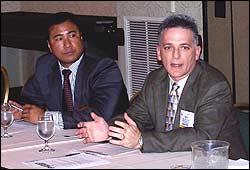 Conrad Bio and Mike Peerson