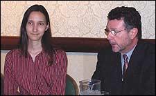Sara Newton and Howard Kramer