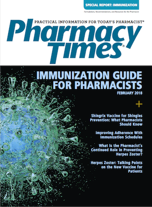 February 2018 Immunization Supplement publication cover