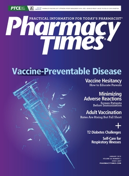 January 2019 Vaccine-Preventable Disease