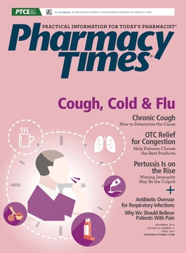 November 2018 Cough, Cold, & Flu