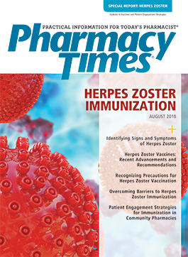 Herpes Zoster (August 2018) publication cover