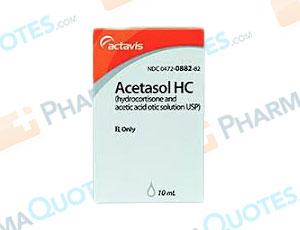 Acetic Acid/Aluminum Acetate Coupon