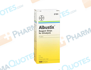 Albustix Reagent Coupon