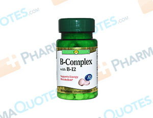 B-Complex With B-12 Coupon
