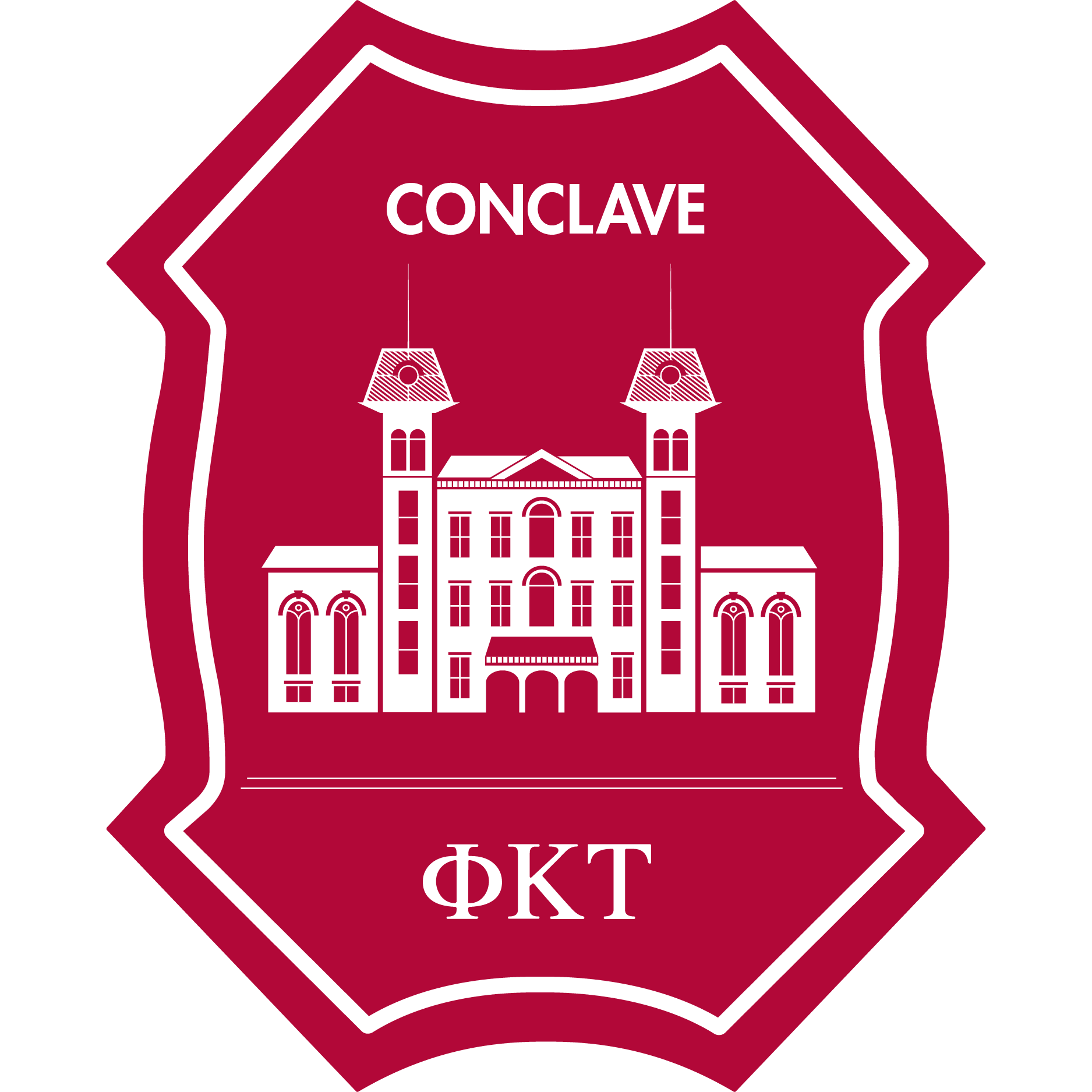Phi Kappa Tau Conclave Logo. Link to Conclave Page